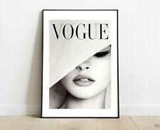 VOGUE MAGAZINE PRINT FASHION ART DRESSING ROOM PRINTS A4
