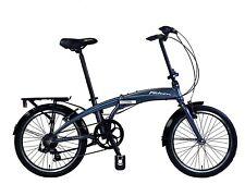 Falcon Nimbus Unisex 20 Inch 7 Speed Folding Bike Blue