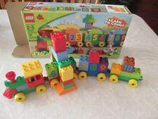 Lego Duplo 10558 number train no dog