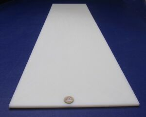 """Cast Nylon Sheet Natural (1/4"""") .250"""" Thick x 12"""" Wide x 48"""" Length"""