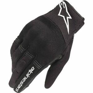 Alpinestars Stella Copper Women's Textile Motorcycle Glove - Black/White, All