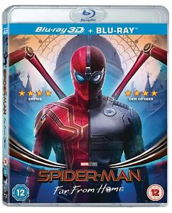Spiderman: Far From Home 3D (Blu-Ray + 3D)