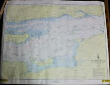ST. LAWRENCE RIVER NAUTICAL  BOATING SURVEY MAP 1963 NEW YORK CANADA