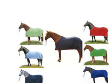 NEW HKM HORSE COB PONY SHOW TRAVEL FLEECE RUG Stable Cooler Colour FREE DELIVERY