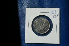 A-216 1979 Canada 25 Cents quarter Queen Elizabeth II