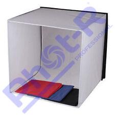 Phot-R Photo Studio Light Tent Cube Soft Box 60x60x60cm + 4 Coloured Backdrops