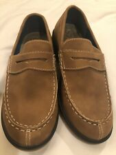 Boys Vince Camuto Leather Like Brown Tan Loafer New