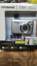 NEW Polaroid IS624-silver 16 mp 6X optical zoom digital camera NIB SEALED !!