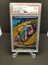 2019-20 Panini Select Courtside Cody Martin Gold Disco Rc #3/10 Psa 9 Hornets