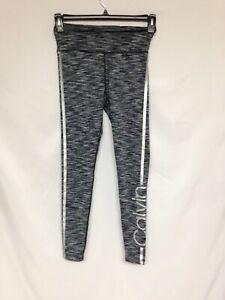 Calvin Klein Performance  High waist tight PF8P8370 Black/Grey XS NWT $59
