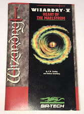 Wizardry V Heart Of The Maelstrom Sir Tech Replacement Game Manual Apple 1988