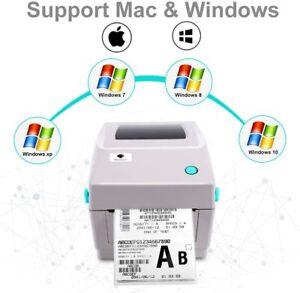 Phomemo PM-201 4×6 Shipping Label Maker Barcode Printer Compatible w/ Win & Mac