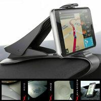 Adjustable Universal Antiskid Car Phone Holder Clip HUD Mount Dashboard G6Z9