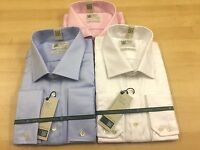 100%  PURE COTTON SAVILE ROW LUXURY TAILORED FIT TWILL  SHIRTS