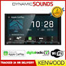 "Kenwood DMX8019DABS 7"" Screen Double Din DAB WiFi Bluetooth CarPlay Android"