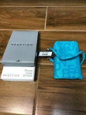 Kenneth Cole Reaction Light Blue 5.5 x 3 Phone Case Wristlet Brand NEW!!