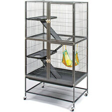 Large Ferret Cage Chinchilla Rabbit Hamster Guinea Pig House Metal Habitat New