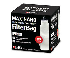 Red SEA MAX NANO 100 Micron Thin-Mesh filtro BAG contenuto: 2 pezzi