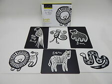 Wee Gallery Art Cards for Baby Jungle Collection 0-12 months flashcards