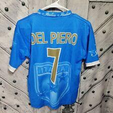 Italy Italia Del Piero 7 Soccer Jersey Youth