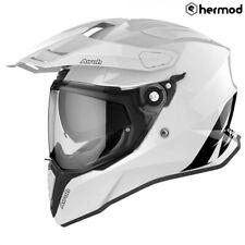Airoh Commander Dual Sport Motorcycle Helmet - White