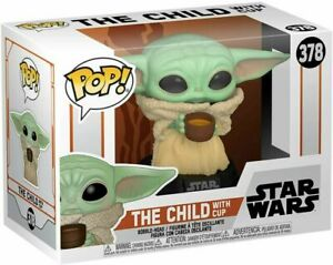 Funko Star Wars: The Mandalorian - The Child with Cup toy NIB FREE SHIPPING