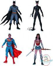 DC Designer Action Figure Series 1 Set of 4 by Jae Lee