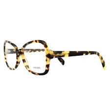 Prada Glasses Frames PR25SV 7S01O1 Medium Havana 53mm Womens