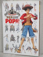 ONE PIECE P.O.P Official Guide w/Poster Art Book Pictorial Figure Catalog SH99*