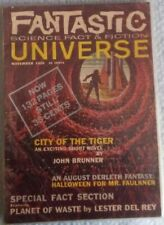 Fantastic Universe Science Fact & Fiction November 1959. 9.5x6.5 inches.