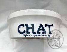 Vintage Taylor & Ng Chat (Cat) Bowl 1979 - Pet Dish - Collectible