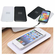 QI Wireless Charger Pad/Mat + Charger Cable for Samsung Galaxy S6 S5 S4 White