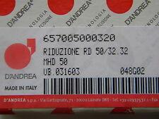 D`Andrea MHD-Reduzierung RD 50/32 32 Neu