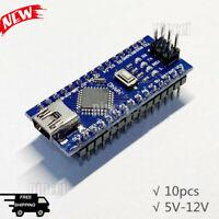 10pcs Nano V3.0 ATMEGA328P Welded Module CH340G Upgraded for Arduino