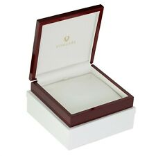 Necklace Gift Box Cherry Rosewood Jewelry Present Boxes Wood Display Case USA