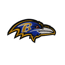 "NFL Baltimore Ravens Logo  DIY Team Embroidery Decoration 3.15""X1.65"""