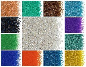 CHOOSE COLOR! 20g 11/0 (2.1mm) Seed Beads Rocailles Preciosa Ornela Czech Glass