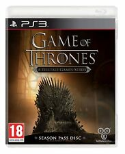 GAME OF THRONES-UNA SPIA Games serie: Season Pass Disco per PAL PS3 (NUOVO)