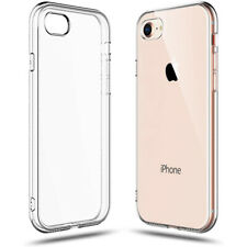 Transparent Soft Clear Rubber Ultra Thin Mobile Phone Case Cover For iPhone 7 8