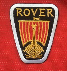 CLASSIC BRITISH ROVER VITESSE CAR BADGE IRON SEW ON PATCH LEYLAND LAND RANGE