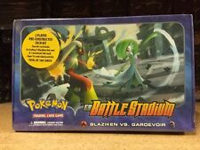 Pokemon EX Battle Stadium Blaziken Vs Gardevoir 2-player Set For Card Game CCG
