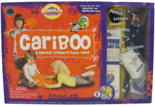 Cranium Cariboo Treasure Hunt Kids Game 2004 Beginner Advanced COMPLETE Learning