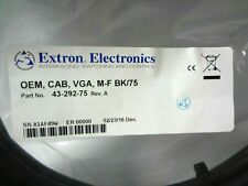 Extron Electronics OEM 75ft (22.8m) Male to Female VGA Cable 43-292-75 REV A