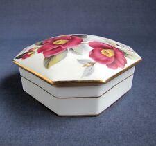 Bonbonnière Fleurs en Porcelaine Artistique de Limoges FM France