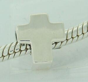 Authentisch Chamilia 2010-3029 Heiliges Kreuz Sterlingsilber Perlen