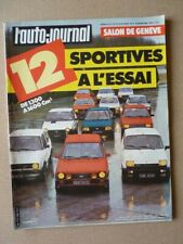 Auto-Journal No 05-82,Toyota Land Cruiser HJ60, Fiat 127 Sport, Ford XR3 XR2, Re
