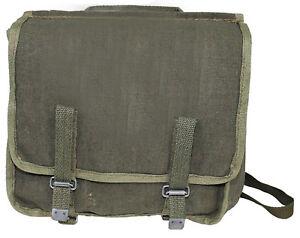 Genuine Polish Army Olive Bread Bag Shoulder Messenger Bag
