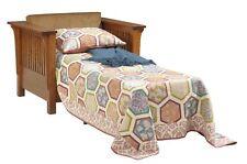 Custom Made | Arts & Crafts | Stickley Style | Prairie Sleeper CHAIR | USA Made!