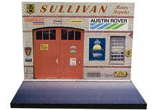 Diorama présentoir Austin Rover Sullivan Motor Repairs - 1/43ème - #43-2-A-A-022