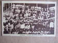 CPA AFRIQUE NIGERIA : LA FOULE AUX ECOLES (CALABAR). MISSIONS PERES DU ST ESPRIT